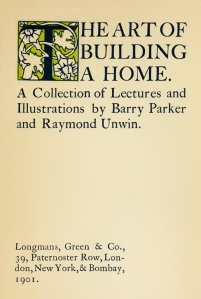 The art of building a home. A collection of lectures and illustr