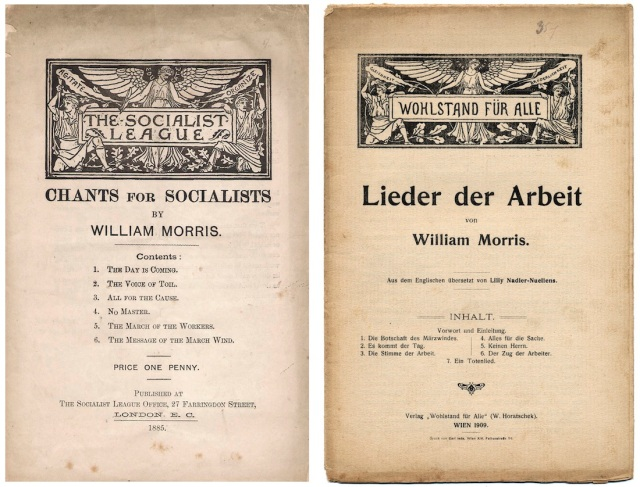 Chants for Socialists : Lieder der Arbeit