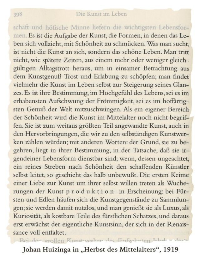 Huizinga-Mittelalter