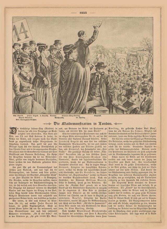 1.Mai London 1892