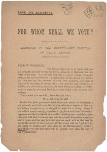 For whom shall we vote -1