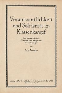 Nettlau-Broschuere